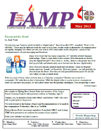 may.2013.cover  Newsletters